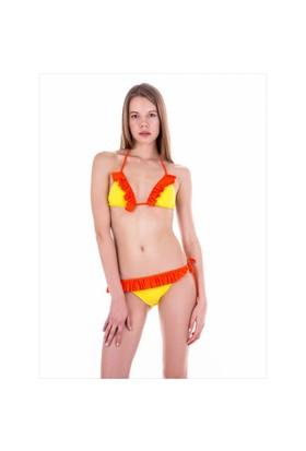 Ayyıldız 20004 Sarı Bikini