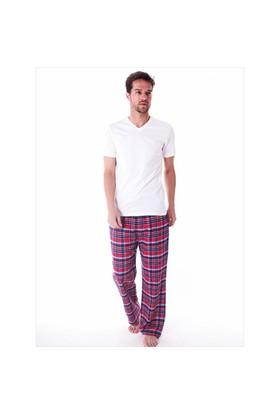 Ayyıldız 59486 Kırmızı Ekoseli Pijama Altı
