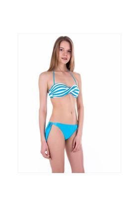 Ayyıldız 40688 Mavi Çizgili Bikini