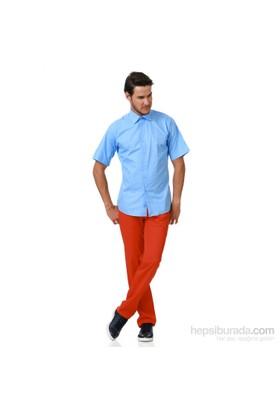 Hatemoğlu Kısa Kol Klasik Slim Fit Gömlek