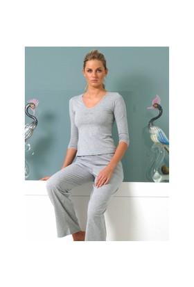 Ayyıldız 59251 Gri Pijama Takımı Gri