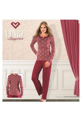Sevim Linse Bayan Viscon Pijama Takımı