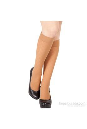 Pierre Cardin Desenli Dizaltı Çorap Arleta Ten