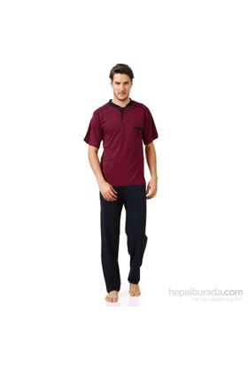 Cicimod Kısa Kol Erkek Üçlü Pijama Takımı