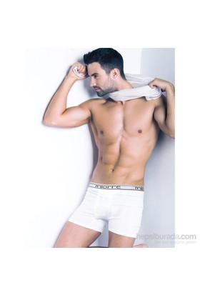 Miorre Modal Strech Boxer Erkek Beyaz