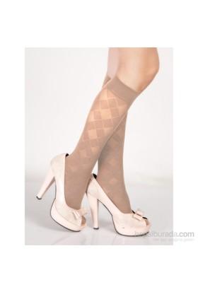 Pierre Cardin Desenli Dizaltı Çorap Sothis Ten