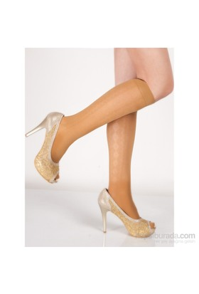 Pierre Cardin Desenli Dizaltı Çorap Alonza Ten