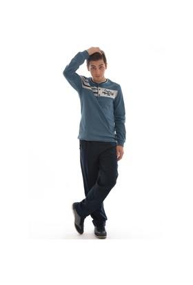 Coşku 1104 Erkek Pijama Takımı - Mavi