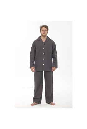 Thedon Kahverengi Desenli Erkek Pijama Takımı