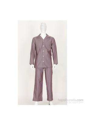 Thedon Renkli Desenli Erkek Pijama Takımı