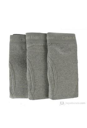 Calvin Klein Erkek 3'Lü Boxer Gri