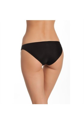 Tutku Kadın Bikini Külot Siyah