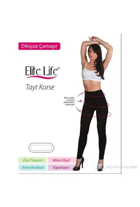 Elite Life Dikişsiz Kadın Korse Tayt | 410