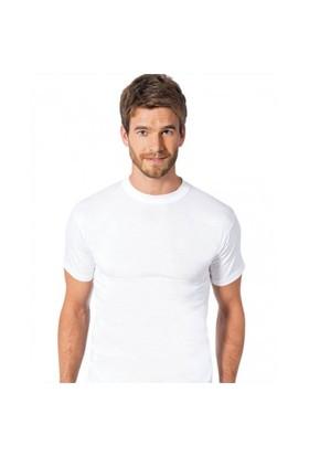 Özlem 6'Lı Paket Sıfır Yaka Erkek Fanila Beyaz