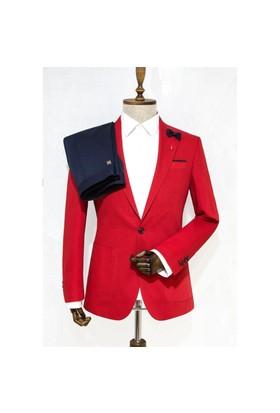 Victor Baron Yeni Sezon Slim Fit Takım Elbise