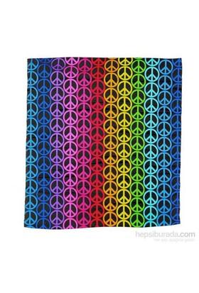 Köstebek Peace Rainbow Unisex Bandana