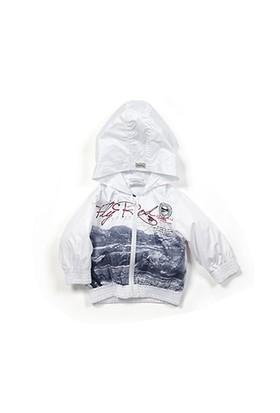 Zeyland Erkek Çocuk Beyaz Yagmurluk - K-61M1MBA22