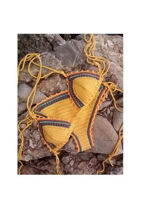 Madame Klotho El Örgüsü Coton Bikini