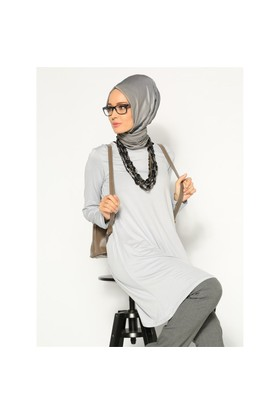 Basic Tunik- Gri - Everday Basic