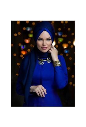 Queen Püsküllü Şal - Laci·Vert - Muslima Wear