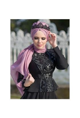 Sultan Bluz - Siyah - Muslima Wear