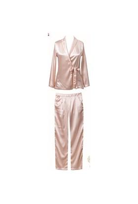 Magic Form 19823 Saten Kumaşlı 4 Lü Takım Pijama
