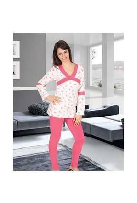Gümüş Bayan Pijama Takım 1146