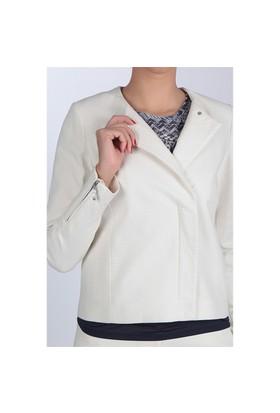 Naramaxx 189 Beyaz Kadın Ceket