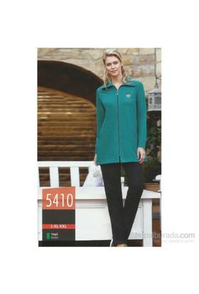 Berrak 5410 Bayan Pijama Takım Yeşil