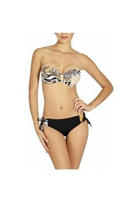Pierre Cardin Kaplı Straplez Bikini