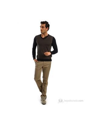 Raypant Erkek Spor Pantolon Bej