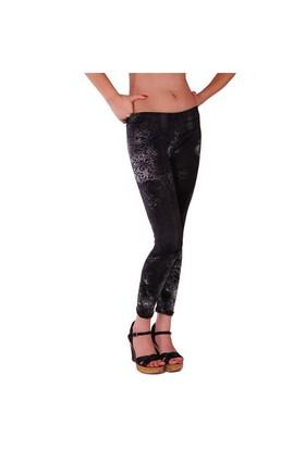 Redhotbest Black Rose Micro Fashion Tight - Desenli Tayt