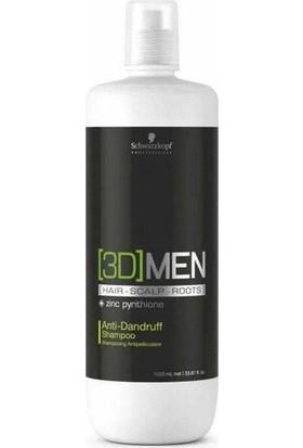 3D Men Anti Dandruff Kepek Önleyici Şampuan 1000 Ml