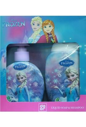 Disney Frozen Şampuan Ve Sıvı Sabun Seti