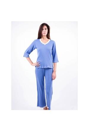 Ayyıldız 59467 Mavi Pijama Takımı