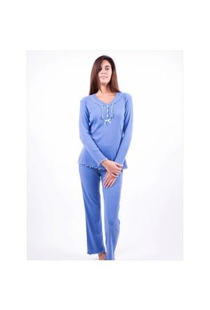 Ayyıldız 59466 Mavi Pijama Takımı