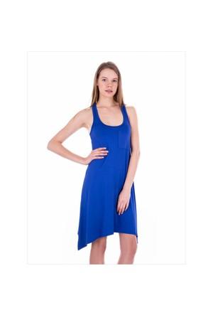 Ayyıldız 59344 Saks Penye Elbise
