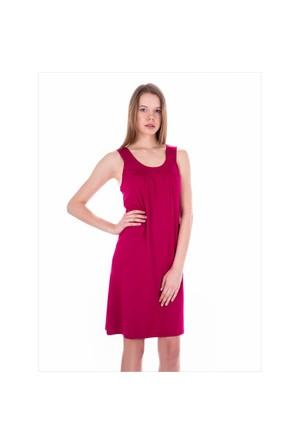 Ayyıldız 59431 Vişne Penye Elbise