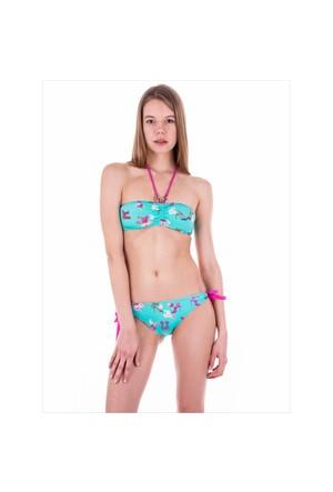 Ayyıldız 20564 Yeşil Desenli Bikini