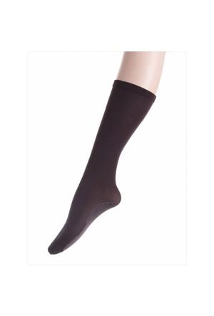 Ayyıldız 324 Kahverengi Diz Altı Çorap