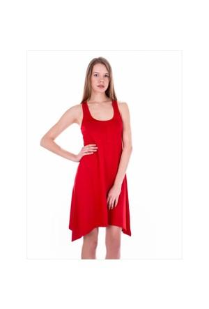 Ayyıldız 59344 Kırmızı Elbise