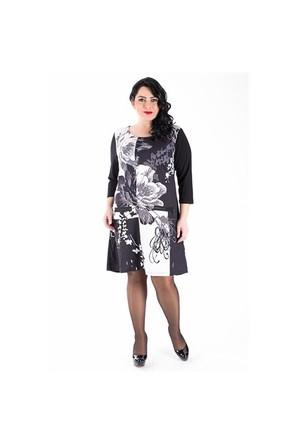 Tepa Siyah Tual Elbise 01000875