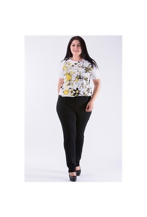 Tepa Siyah Strech Pantolon 01000112-95