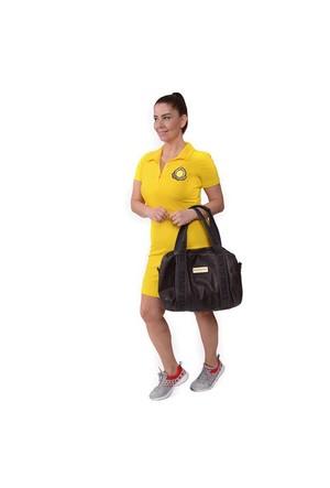 Tepa Sarı Armalı Elbise 01000109-29