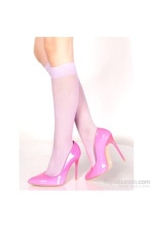 Pierre Cardin Desenli Dizaltı Çorap Tracy Lila