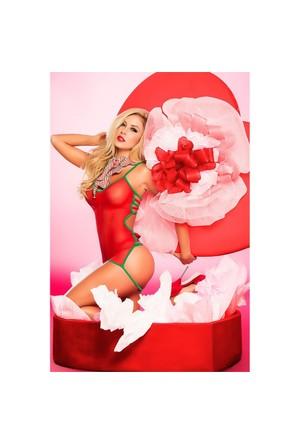 Merry See Kırmızı Seksi İç Giyim 682806