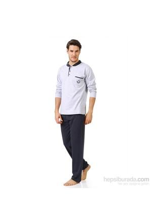 Winlife Uzun Kol Erkek Pijama Takım