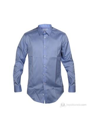 Calvin Klein Erkek Gömlek Mavi