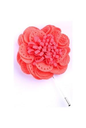 La Pescara Pembe Özel Tasarım Yaka Çiçeği Yc0072