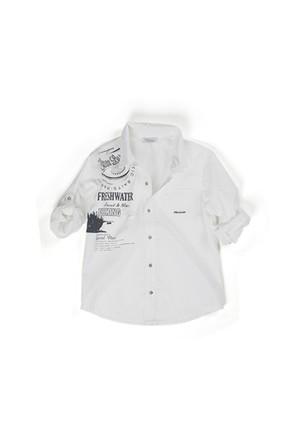 Zeyland Erkek Çocuk Beyaz Gömlek - K-61M3NBA82